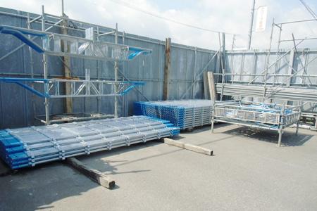 会津営業所の足場資材管理3