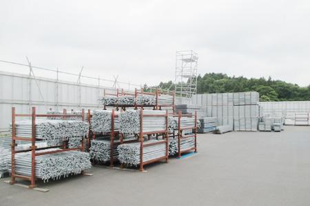 天栄本社の足場資材管理5