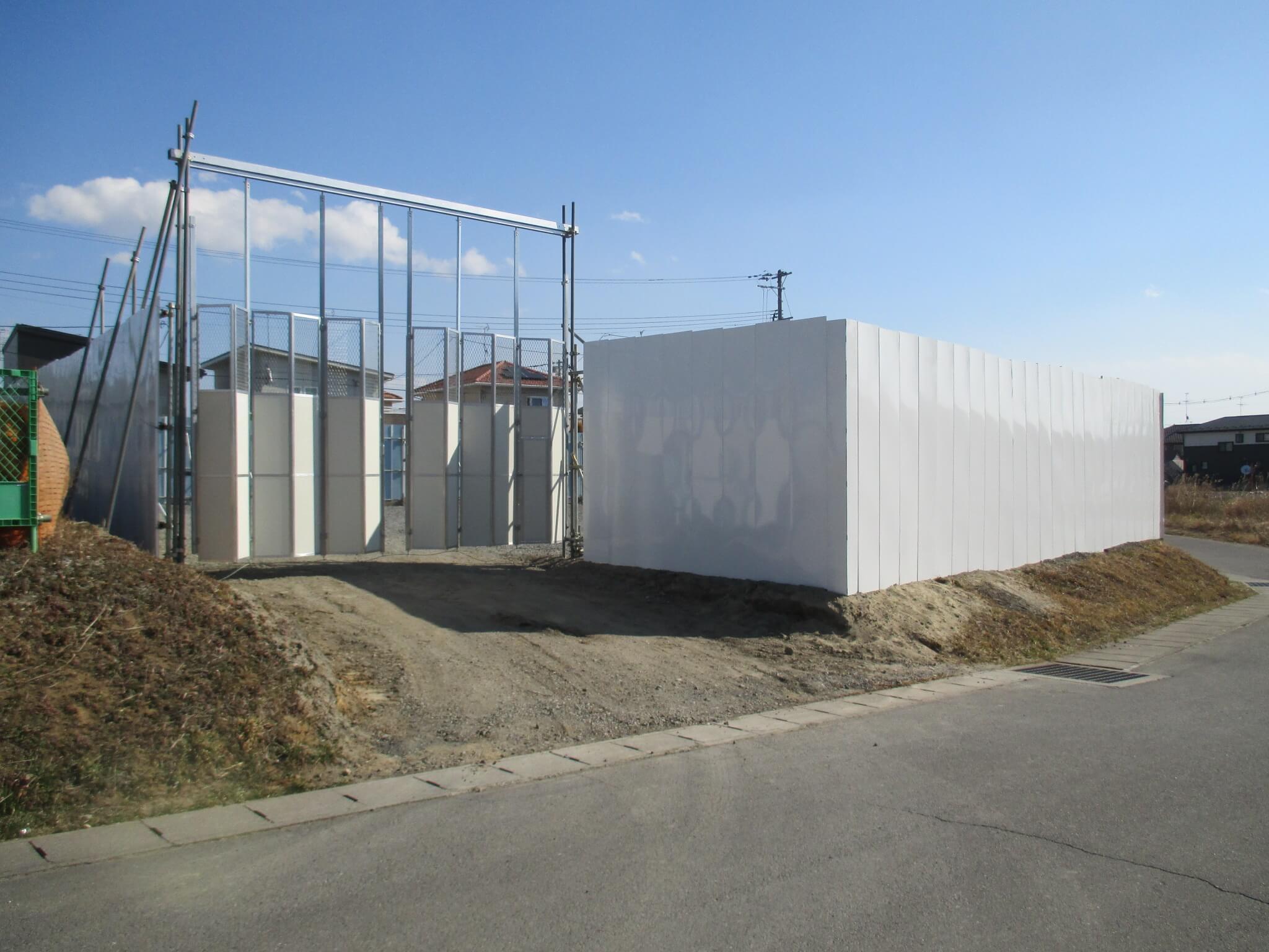 福島の足場施工会社セーフティーステップの事業 仮囲い、仮設ハウス等もご相談ください