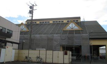 塔屋改修工事